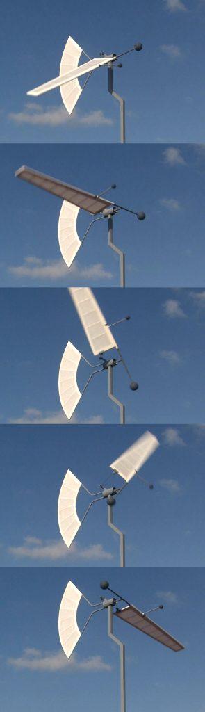 éolienne artistique