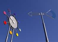 1% artistique installation paysagère sculpture cinétique éolienne