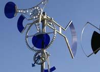 sculpture éolienne art cinetique