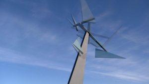 sculpture et ciel