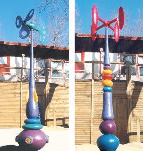 sculpture enfant jeux