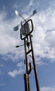 sculpture éolienne de pompage