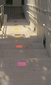 paves céramique et escalier