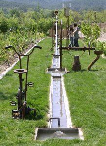 eau, jardin sculptures