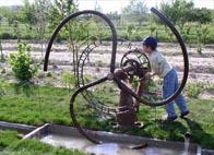 jeux d'eau pompe
